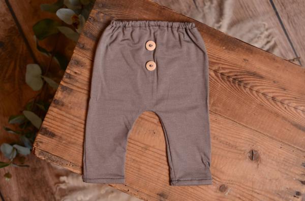 Pantalon maille vison