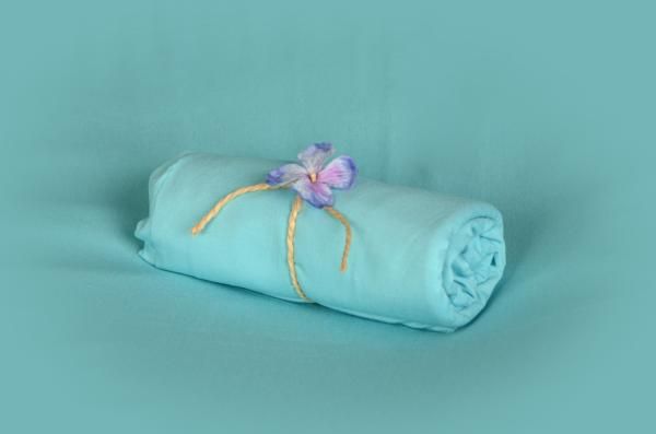 Light blue smooth fabric