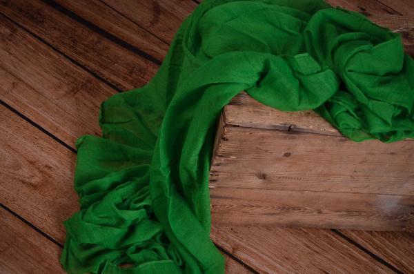Wrap muselina verde