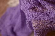 Lilac rayon wrap