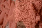 Dark pink rayon wrap