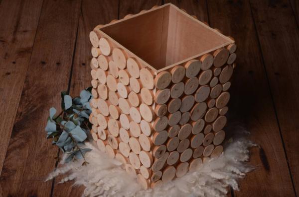 Fehlerhafte rustikale Schüssel Baumrinden 40 cm