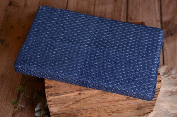 Mattress with denim cover