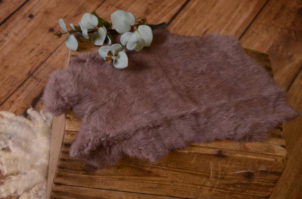 Tejido de piel rosa palo