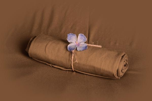 Light brown smooth fabric