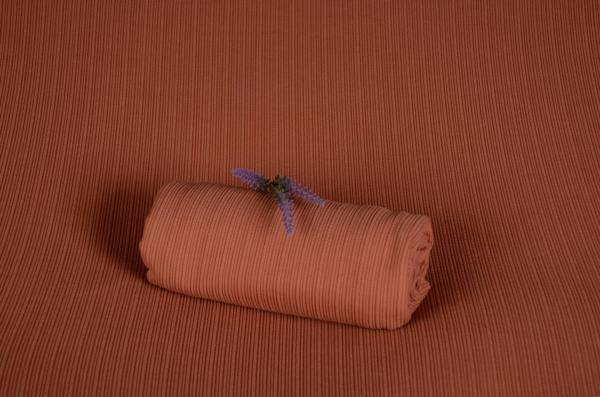 Tissu New York orange foncé