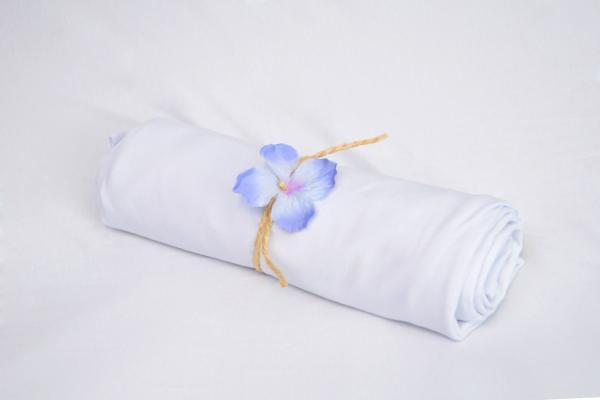 Tela liscia bianco