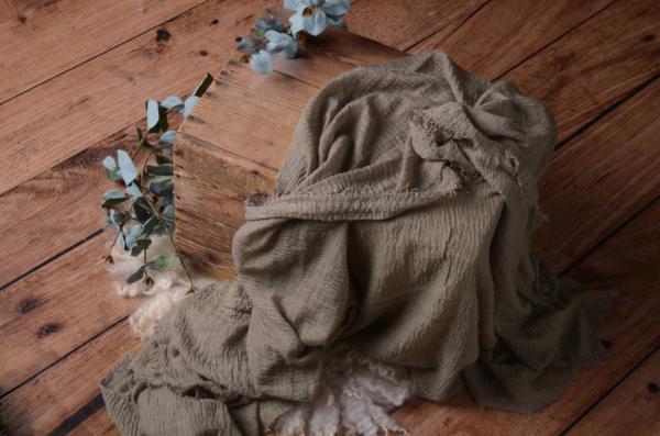 Wrap aus Baumwolle in Nerz