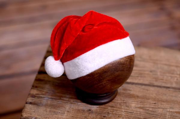 Bonnet de Père Noël pour nouveaux-nés