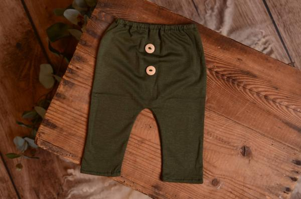 Bottle green stitch pair of pants