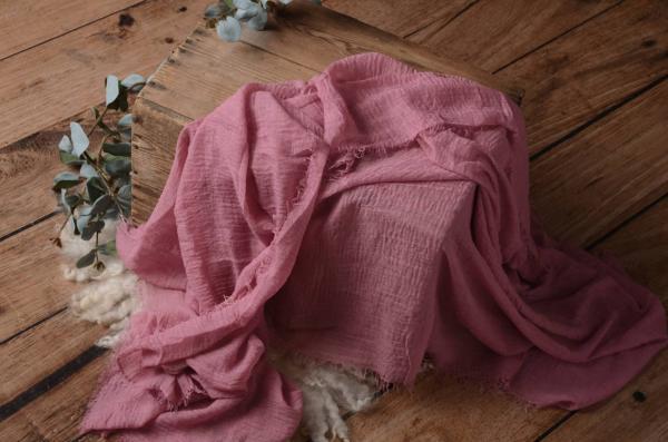 Wrap de algodón rosa violáceo