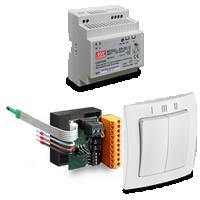 Kit électrique avec interrupteur LUNOS