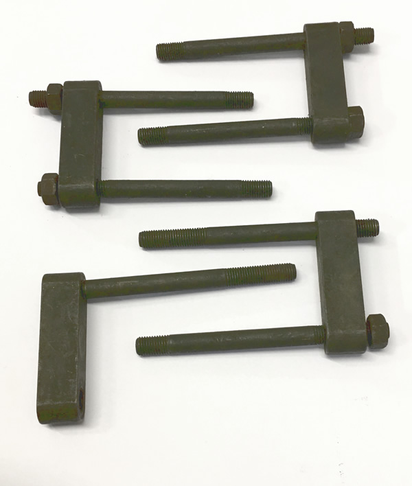 Clamp Fuel Injector - set of 4 - Series 2 & 2a Diesel