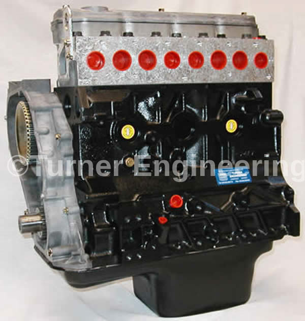 STC 1736  Stripped Engine - Reman