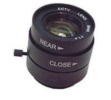Objectif 6mm Monture CS F1.2