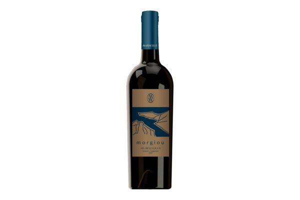 Organic - Morgiou - Vin rouge biologique 2017 - Carton de 6