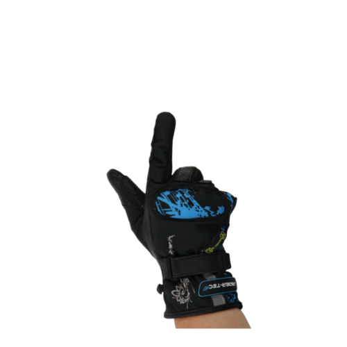 Gants de Moto Femme Urban Girly Rider-Tec Textile Noir & Turquoise