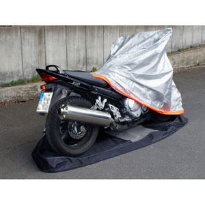 Housse moto protection intégrale