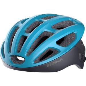 Casque vélo de route connecté SENA R1 Bleu