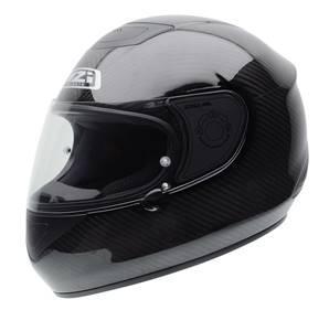NZI - Casque Moto, Scooter intégral - RCV CARBON - Carbone brillant