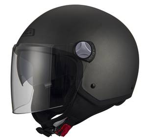NZI - Casque Moto, Scooter Demi-Jet - CAPITAL2 DUO - Anthracite Mat