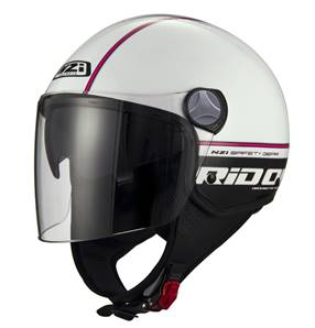 NZI - Casque Moto, Scooter Demi-Jet - CAPITAL2 DUO GRAP - Bicolore Brillant