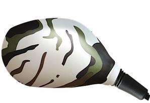 Housse rétroviseur scooter camouflage ronde