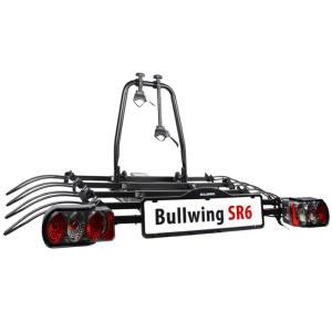 Porte-vélos d'attelage plateforme pour 4 vélos Bullwing SR6