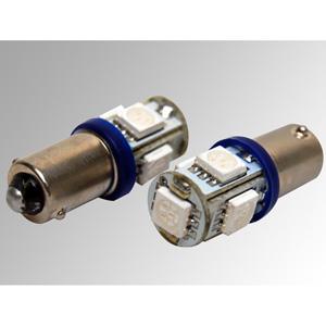 Ampoules à LEDs CMS BA9S bleues
