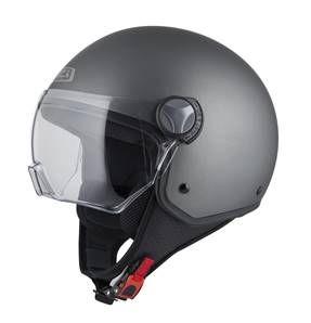 NZI - Casque Moto, Scooter Demi-Jet - CAPITAL VISION - Anthracite Mat