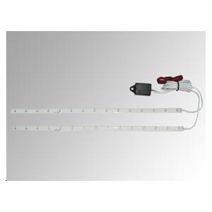 Strip light 2x15 LEDs bleues