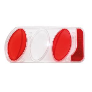 Plexiglass de rechange transparent gauche