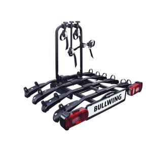 Porte-vélos d'attelage plateforme pour 4 vélos Bullwing SR8