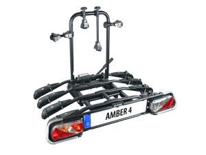 Porte-vélos plateforme sur attelage 4 vélos AMBER IV