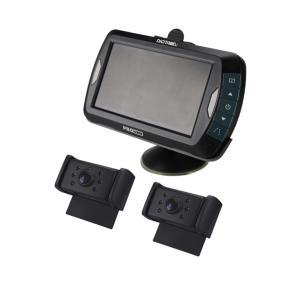 Caméra de recul sans fil numérique x2 caméras écran 4,3 pouces pour caravane