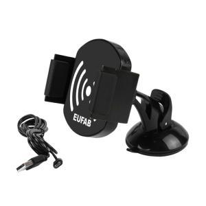 Support de téléphone portable EUFAB avec chargeur à induction sans fil
