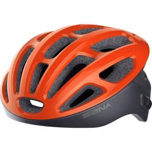 Casque vélo de route connecté SENA R1 Orange