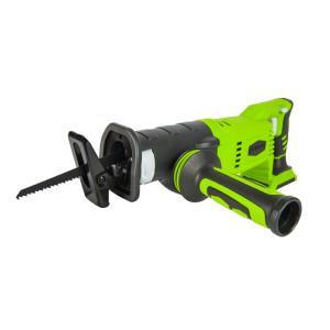 Scie sabre alternative sur batterie GREENWORKS 24V (sans batterie ni chargeur)