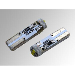 Ampoules à LEDs T5 CMS 1W bleues