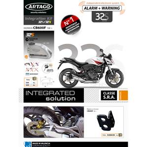 SUPPORT ADAPTABLE 32 HONDA CB600F (2008-…) HORNET CBR600F (2011-…)
