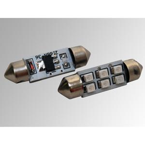 Ampoules à LEDs CMS 36 mm bleues
