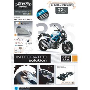 SUPPORT ADAPTABLE 32 SUZUKI SVF650 GLADIUS (2009-…)