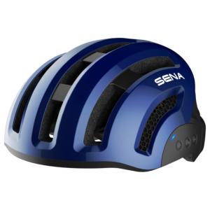 Casque vélo urbain connecté SENA X1 Bleu