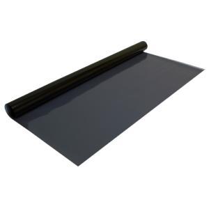 Film solaire noir, transparence 20%, 0,75 x 1,5 m