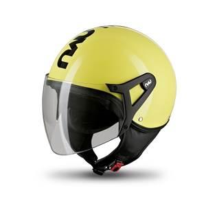 N350 Helmets Jaune Fluo Noir T.: XL