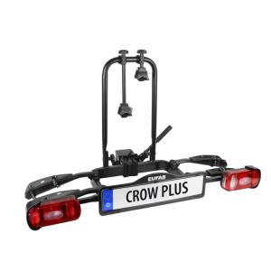 Porte-vélos 2 vélos basculant sur attelage CROW PLUS - EUFAB