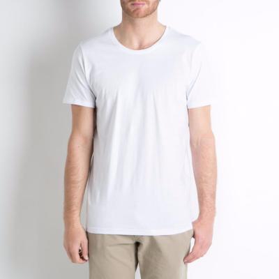 Tshirt coton bio blanc Homme
