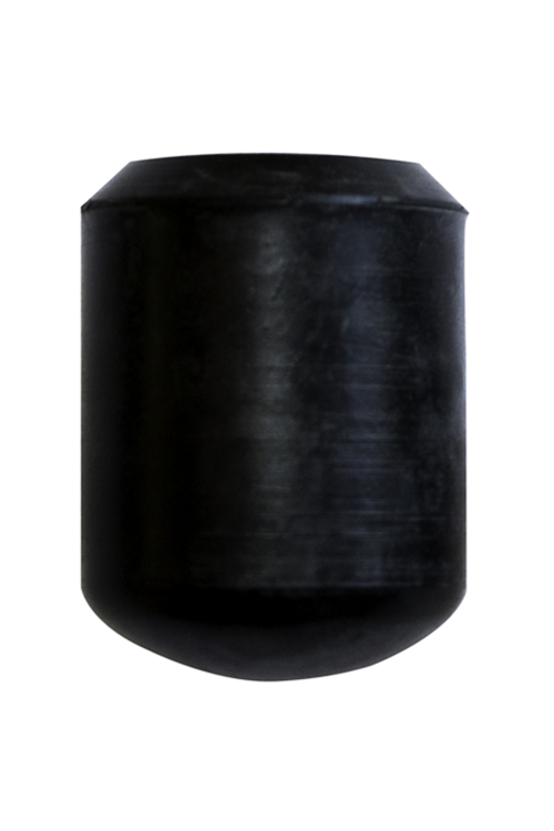 Rounded Black Rubber Ferrule for Tripod Seat Sticks - 19mm