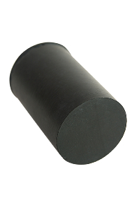 Black Rubber Ferrule RFA16 - 16mm - 5/8