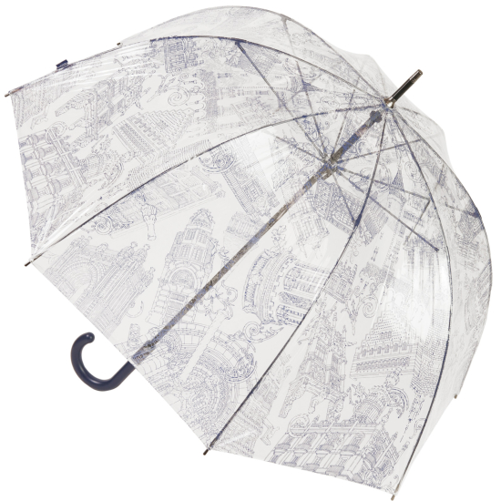 Architecture PVC Dome Umbrella by M&P - Navy